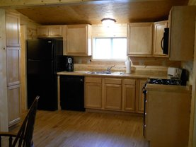 Family Cabin Kitchen